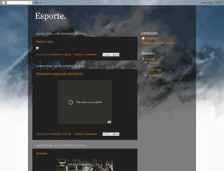 www2014esportes.blogspot.com.br screenshot