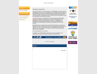 www3.portoweb.com.br screenshot
