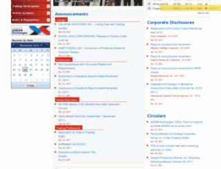 www3.pse.com.ph screenshot