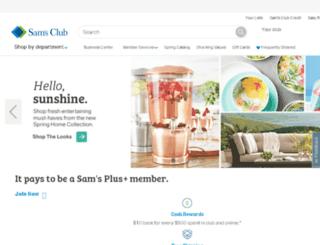 www3.samsclub.com screenshot
