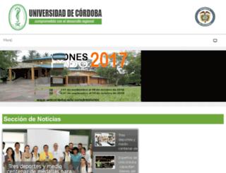 www3.unicordoba.edu.co screenshot