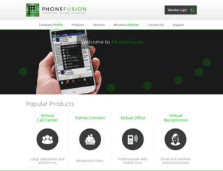 www34-members.phonefusion.com screenshot