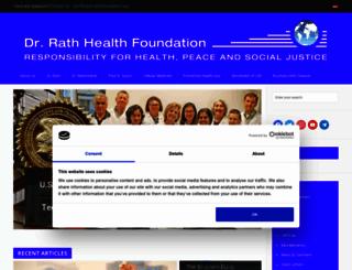 www4.dr-rath-foundation.org screenshot