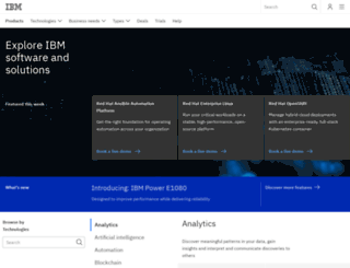 www4.software.ibm.com screenshot