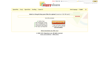 www4.zippyshare.com screenshot