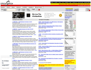 wwwa.stockwatch.com screenshot