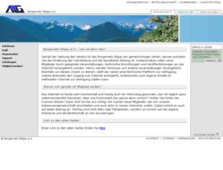 wwwalt.allgaeu.org screenshot