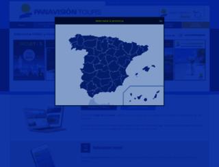 wwwaps.panavision-tours.es screenshot