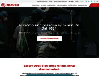 wwwdev.emergency.it screenshot