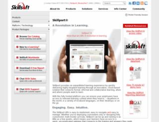 wwwdunkinbrands.skilport.com screenshot