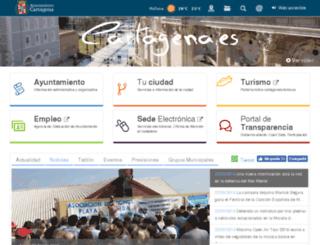 wwwe.cartagena.es screenshot