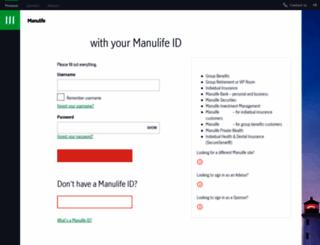 wwwec7.manulife.com screenshot