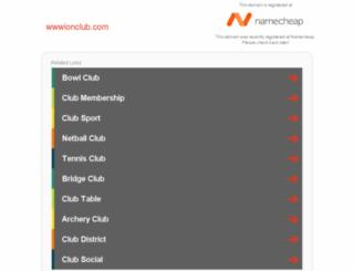 wwwionclub.com screenshot