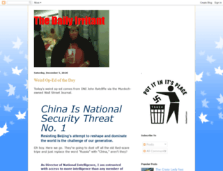 wwwirritant.blogspot.com screenshot