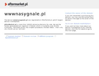 wwwnasygnale.pl screenshot