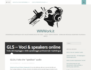 wwwork.it screenshot