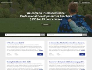 wwwpdclassesonlinecom.learnupon.com screenshot