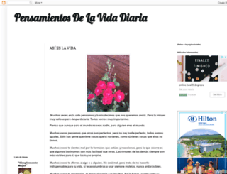 wwwpensamientosdelavida.blogspot.com.ar screenshot