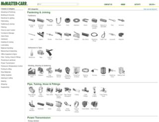 wwwqual.mcmaster.com screenshot