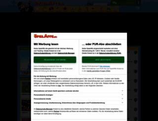 wwwspieleaffe.de screenshot