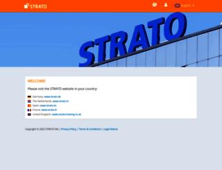 wwwstrato.de screenshot
