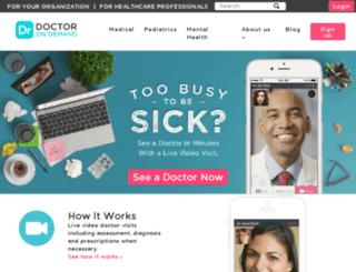 wwwtest.doctorondemand.com screenshot