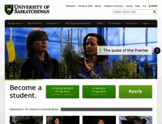 wwwtest.usask.ca screenshot