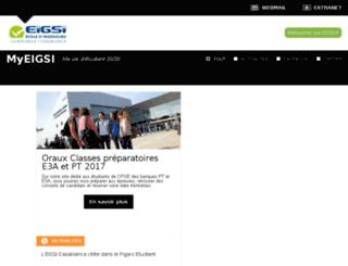 wwwv4.eigsi.fr screenshot