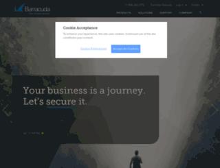 wwww.barracudanetworks.com screenshot