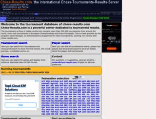 wwww.chess-results.com screenshot