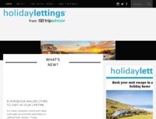 wwww.holidaylettings.co.uk screenshot