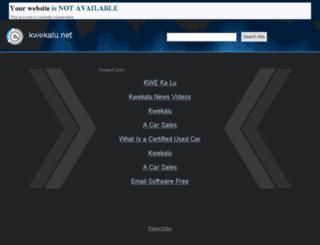 wwww.kwekalu.net screenshot