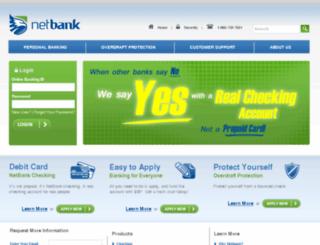 wwww.netbank.com screenshot