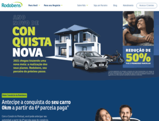 wwww.rodobens.com.br screenshot