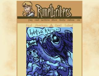 wwww.runewriters.com screenshot