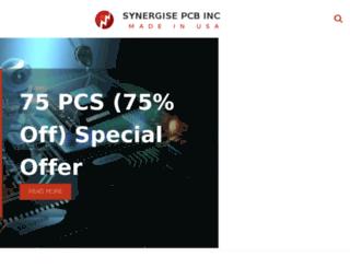 wwww.synergisepcb.com screenshot