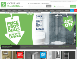 wwww.victorianplumbing.co.uk screenshot