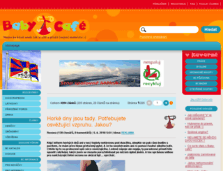 wwwwww.baby-cafe.cz screenshot