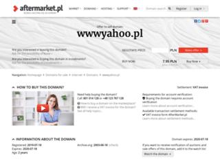 wwwyahoo.pl screenshot