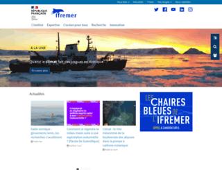 wwz.ifremer.fr screenshot