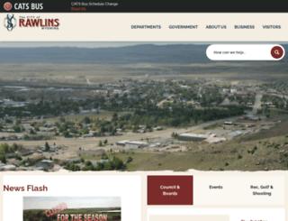 wy-rawlins.civicplus.com screenshot
