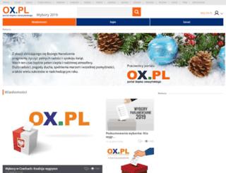 wybory.ox.pl screenshot