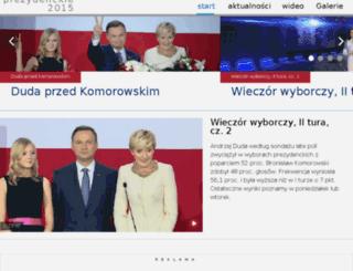 wyboryprezydenckie.tvp.pl screenshot