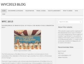 wyc2013.com screenshot