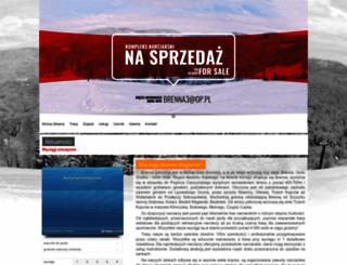 wyciagi.brenna.pl screenshot