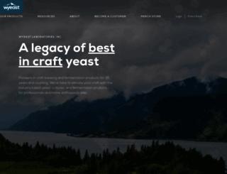 wyeastlab.com screenshot