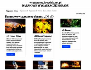 wygaszacze.krzysiek.net.pl screenshot