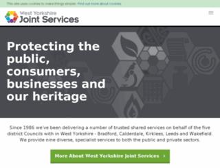 wyjs.org.uk screenshot