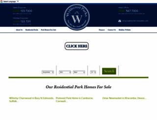 wyldecrestparks.com screenshot