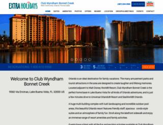 wyndhambonnetcreek.com screenshot